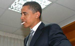 obama fumeur