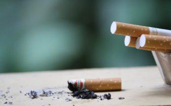 impact cigarette blanchiment des dents et gouttière dentaire